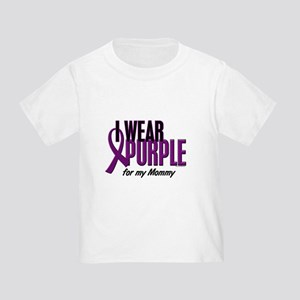 I Wear Purple For My Mommy 10 Toddler T-Shi