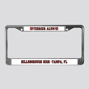 HHS Terrier Alum License Plate Frame
