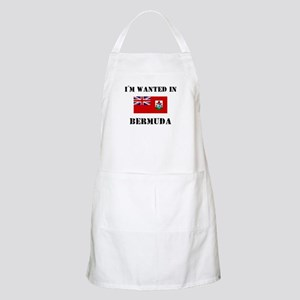 I'm Wanted In Bermuda BBQ Apron