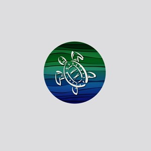 Sea Turtle Mini Button