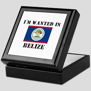 I'm Wanted In Belize Keepsake Box
