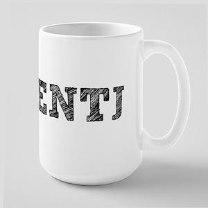 ENTJ New School! Large Mug
