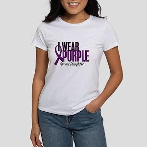 I Wear Purple For My Daughter 10 Women's T-Shirt