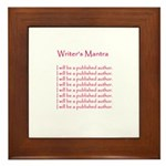 Romance Writers Framed Tile