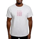 Romance Writers Light T-Shirt