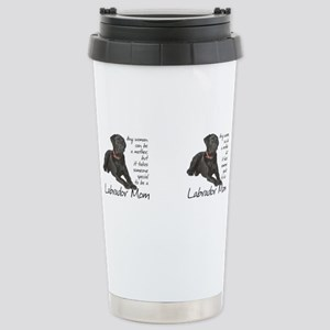 Black Lab Mom Mugs