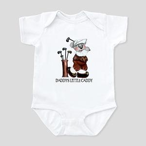 DADDY'S LITTLE CADDY Infant Bodysuit