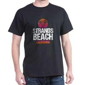 Sunset Strands Beach T-Shirt