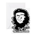 Viva La Revolucion Products Greeting Card