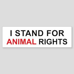 Animal rights Bumper Sticker