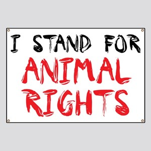 Animal rights Banner