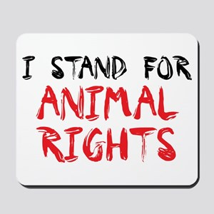 Animal rights Mousepad