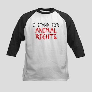 Animal rights Kids Baseball Jersey