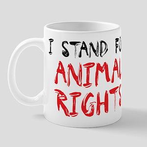 Animal rights Mug