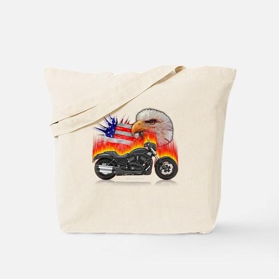 Night Rod Eagle Flag Tote Bag
