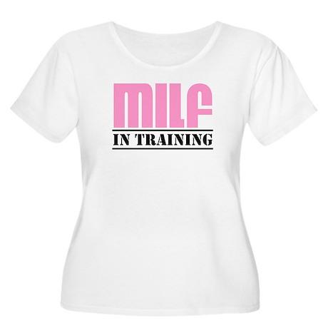 milf in training Women's Plus Size Scoop Neck T-Sh
