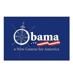 Obama Compass Postcards (Package of 8)