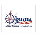 Obama Compass Small Poster