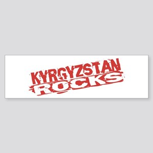 Kyrgyzstan Rocks Bumper Sticker
