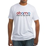 Obama Time Fitted T-Shirt