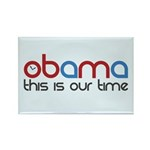 Obama Time Rectangle Magnet (100 pack)
