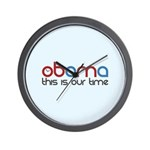 Obama Time Wall Clock