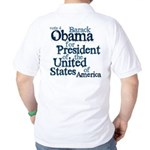 Vote 4 Obama Golf Shirt