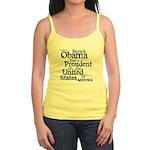 Vote 4 Obama Jr. Spaghetti Tank