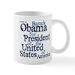 Vote 4 Obama Mug