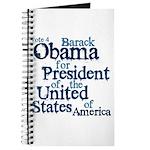 Vote 4 Obama Journal