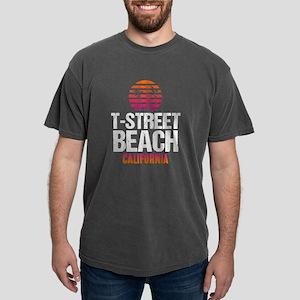 Sunset T Street Beach Mens Comfort Colors Shirt