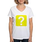 Question? Women's V-Neck T-Shirt