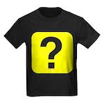 Question? Kids Dark T-Shirt