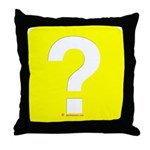 Question? Throw Pillow