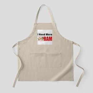I Need More Ram BBQ Apron