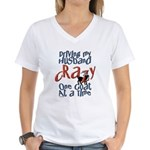 One Goat at a Time Women's V-Neck T-Shirt