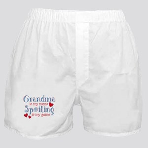 Spoiling Grandma Boxer Shorts