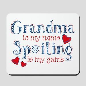 Spoiling Grandma Mousepad