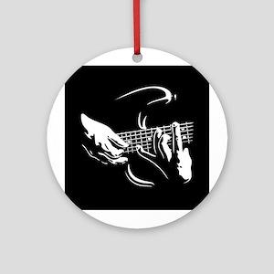 Guitar Hands Ornament (Round)