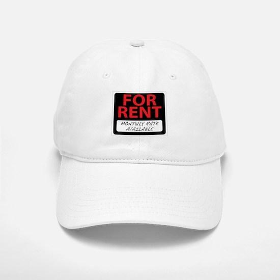 For Rent Baseball Baseball Cap
