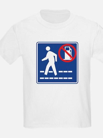 Save Gas: Walk T-Shirt