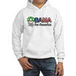 Obama 1up for America Hooded Sweatshirt