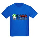 Obama 1up for America Kids Dark T-Shirt
