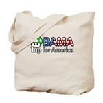 Obama 1up for America Tote Bag
