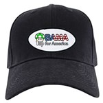 Obama 1up for America Black Cap