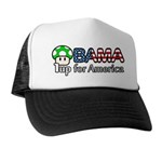 Obama 1up for America Trucker Hat