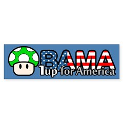 Obama 1up for America Bumper Sticker