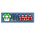 Obama 1up for America Bumper Sticker (10 pk)