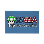 Obama 1up for America Rectangle Magnet