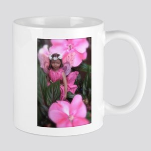 Pink Impatiens Fairy Fantasy Mug